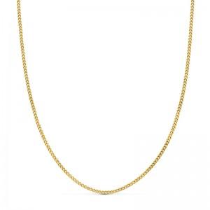 Cadena Oro 18kt Barbada 45cm x 1,5mm