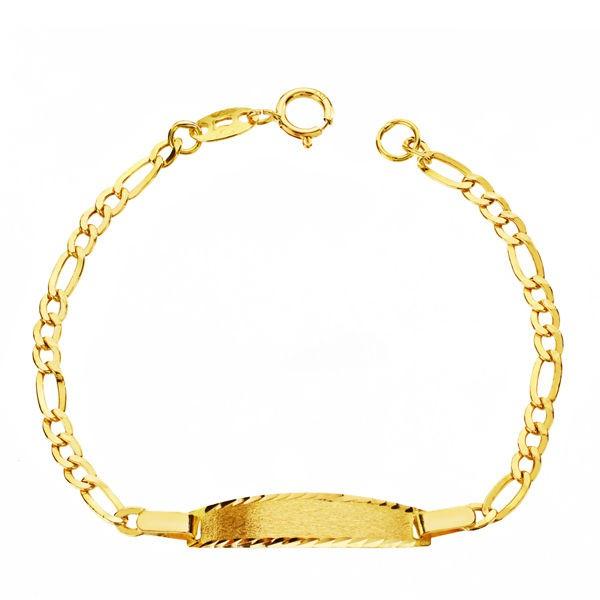 Esclava bebé en Oro 18 kt eslabones Cartier -12 cm