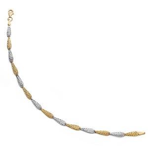 Pulsera Nanuyu en Oro de 18kt en bicolor