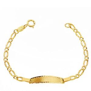 Esclava en Oro 18 Kt con cadena Cartier -12 cm