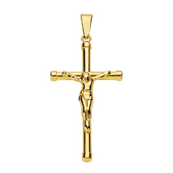 Cruz de Oro 18kt con Cristo