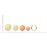 Aros Espiral Oro 18kt brillo -21mm