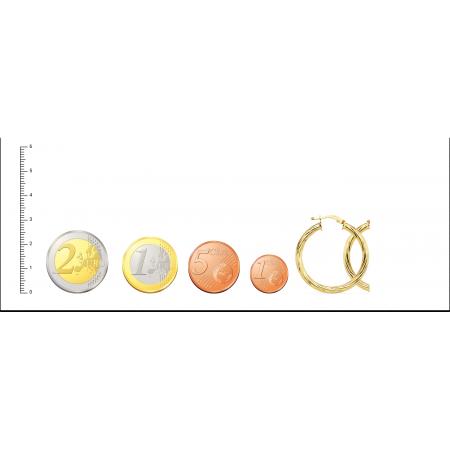 Aros Espiral Oro 18kt brillo