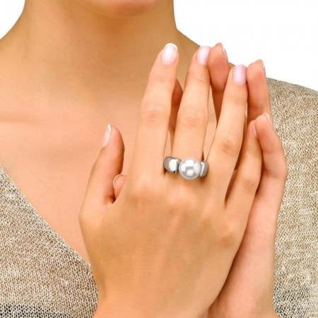 Anillo Nuada de plata con perla 7mm