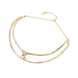 """Collar """"The One Metal"""" con baño de oro"""