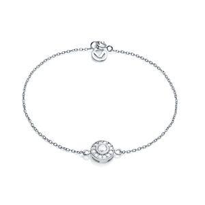 Pulsera Jewels de plata con circonita
