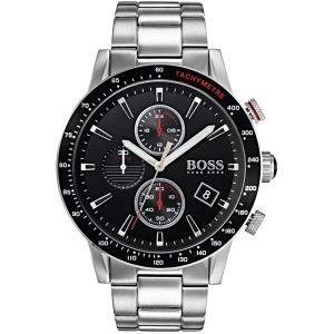 Reloj Hombre Crono Black Rafale 44m negro