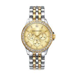 Reloj de Mujer Bicolor Multifunción