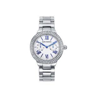 Reloj de Mujer Plateado Multifunción