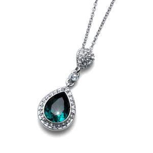 Colgante Power cristal Swarovski emerald