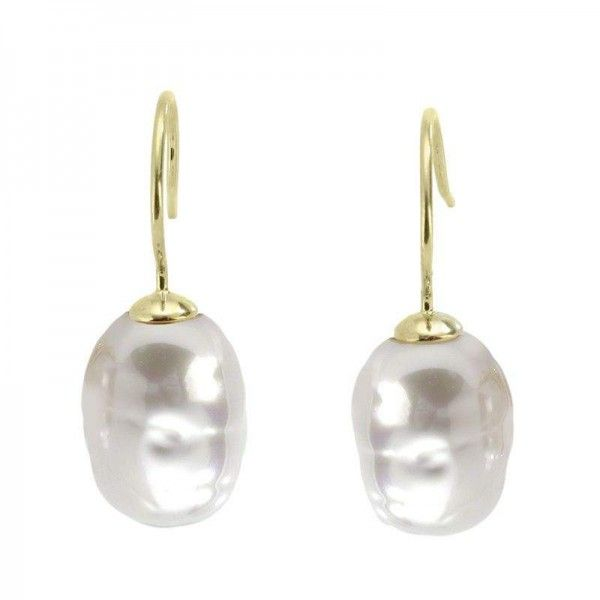 Pendientes perla barroca Real Beauty