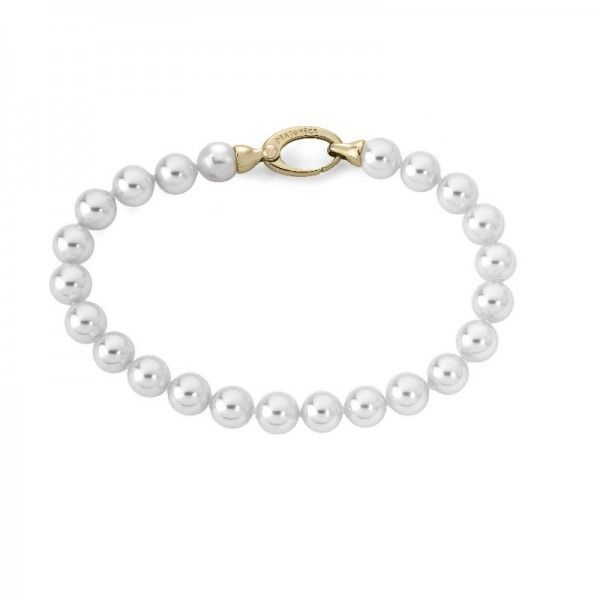 Pulsera 19/7 romántico de perlas standard