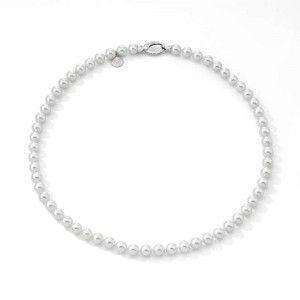 Collar clasico de perlas 7mm y 50cm