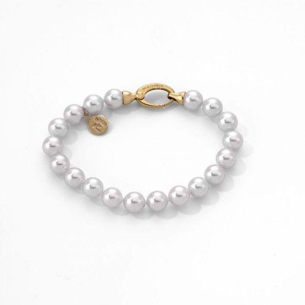 Pulsera 19/8 romántico de perlas standard