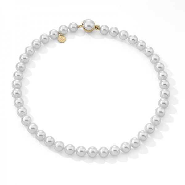 Collar 45/10 romántico de perlas standard