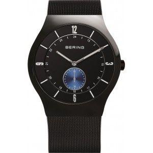 Reloj Classic Hombre malla negra
