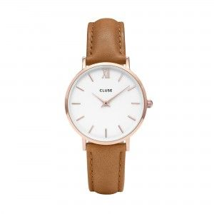 CLUSE MINUIT 33MM MARRON- CL30021