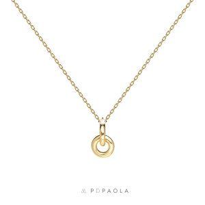 Gargantilla plata dorada Isabella Gold