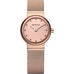 Reloj Mujer Classic de oro rosa milanesa