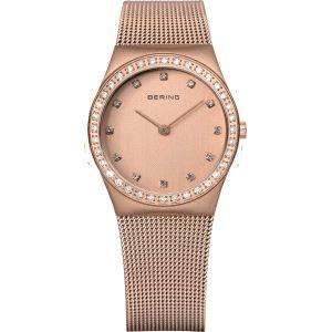 Reloj Mujer esfera y correa de oro rosa
