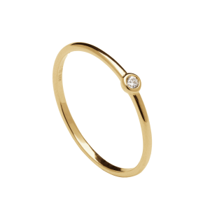 Anillo Classic Gold de plata dorada