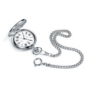 Reloj de Bolsillo de acero analógico