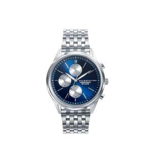 Reloj hombre cronógrafo con esfera azul