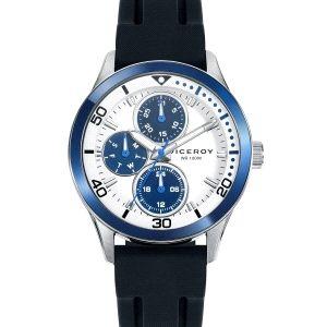 Reloj Niño azul caucho con calendario