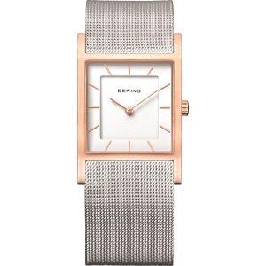 Reloj Unisex cuadrado 26mm bicolor