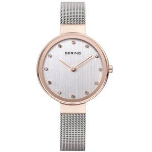 Reloj Mujer Classic 34mm bicolor acero