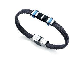 Pulsera Viceroy azul y acero caballero-6337P09013