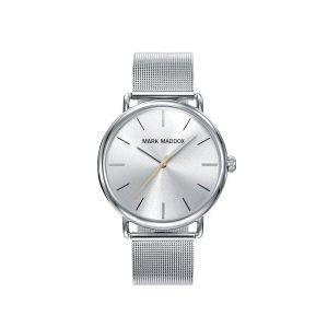Reloj Hombre Clásico plateado