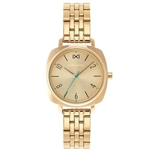 Reloj Mujer YaleTown de acero dorado