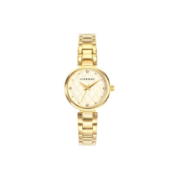 c7b5d565aa4d Reloj Mujer Clásico baño en oro - 471064-23 - Joyería Armaan