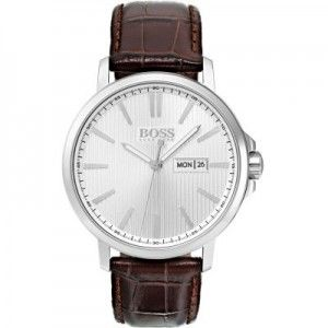 Reloj Hombre The James 42mm marrón piel