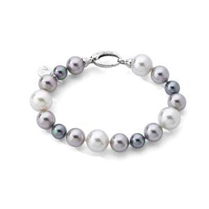 Pulsera Estela de perlas multicolor