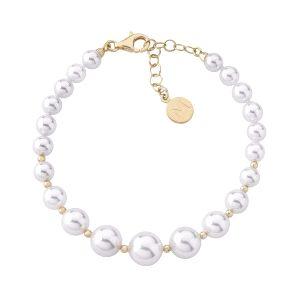 Pulsera Essential de perlas graduadas