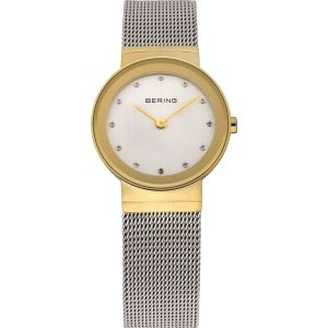 Reloj Mujer Acero bicolor malla