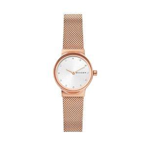 Reloj Mujer Freja acero rosa