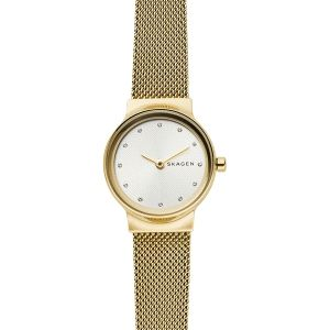 Reloj Mujer Freja dorado extraplano