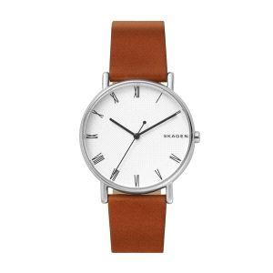 Reloj Hombre Signatur de piel marrón