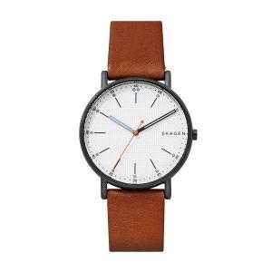 Reloj Hombre de piel marrón Signatur