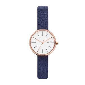 Reloj Mujer Signatur piel azul