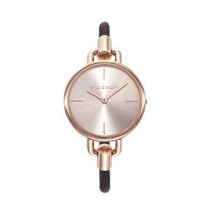 Reloj Mujer minimalista Chic baño oro rosa