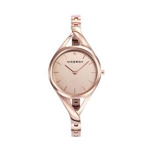 Reloj Mujer acero baño rosa Air