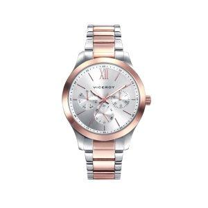 Reloj Mujer Multifuncion bicolor