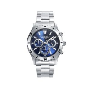 Reloj Hombre Crono esfera azul