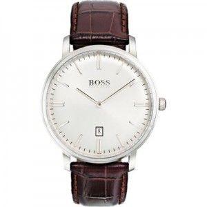 Reloj Hombre Tradition clasico piel marrón