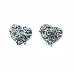 Pendientes Full Heart cristal Swarovski