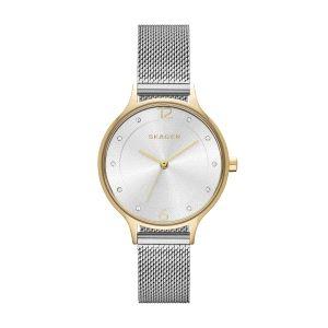 Reloj Mujer Anita bicolor con milanesa